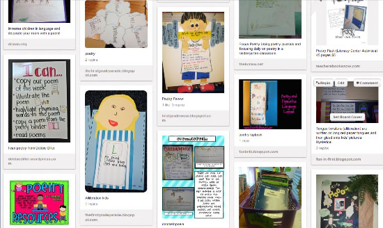 poetry teaching ideas activities lessons and printables a to z