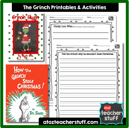How the Grinch Stole Christmas Lesson Plans, Printables and Activities ...