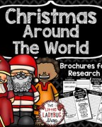 Christmas Around the World Teaching Ideas, Activities, Lessons and Printables